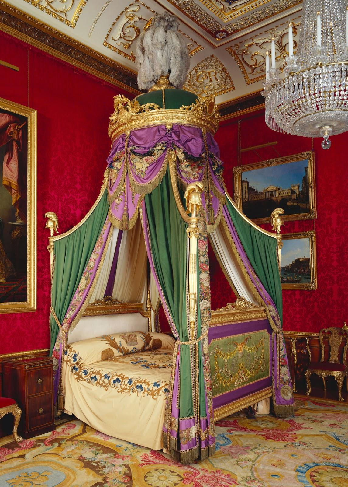 Queen elizabeth bedroom