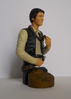 figura a escala de Han Solo