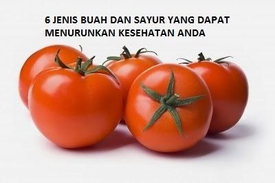 Buah dan Sayuran Sehat yang juga dapat Menurunkan Kesehatan