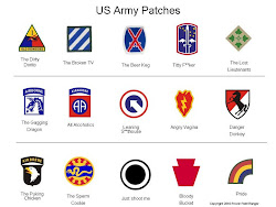 What the Army shoulder patches mean...