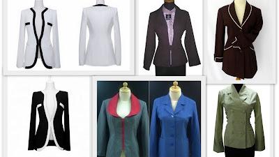 model+baju+kerja+wanita+blazer+formal Model Baju Kerja Wanita Terbaru 2013