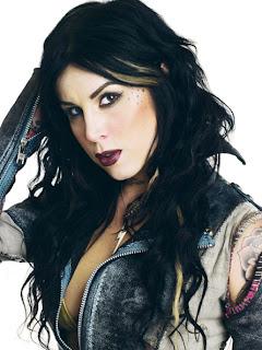 Kat Von D tattooing