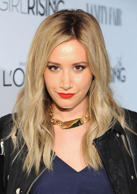 Ashley Tisdale está trabajando en su próximo álbum de estudio