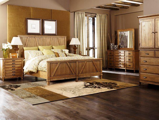 Traditional Master Bedroom Dark Furniture Elegant Classic
