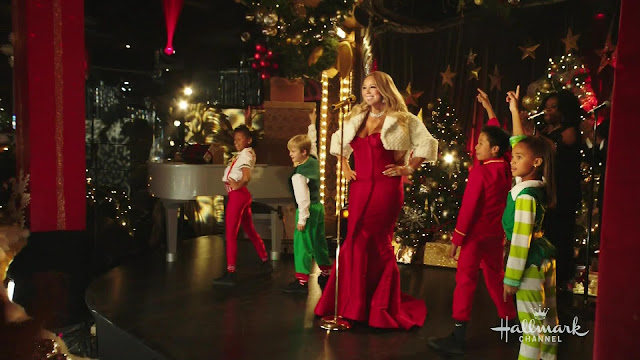 Actress, Singer, @ Mariah Carey - Oh Santa - Mariah Carey's Merriest Christmas
