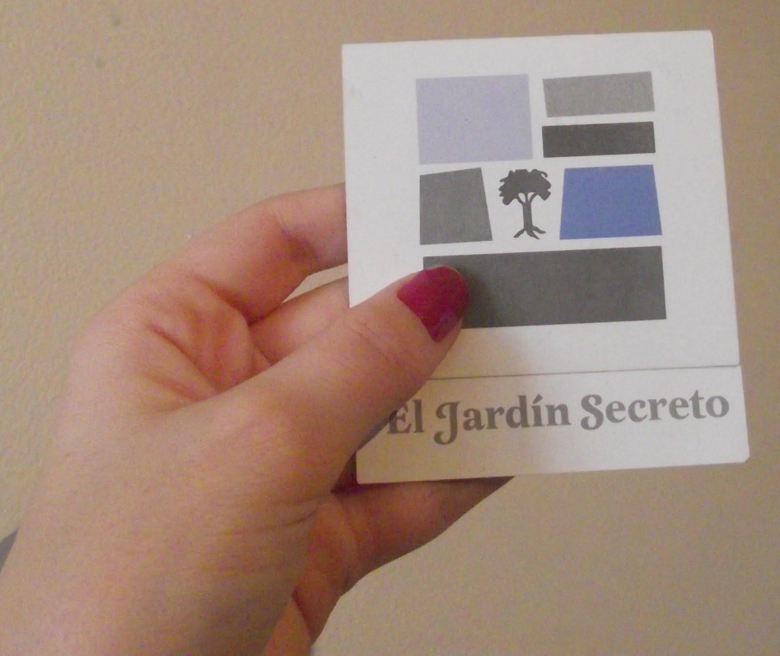 Caderninho ambulante el jard n secreto for El jardin secreto filmaffinity