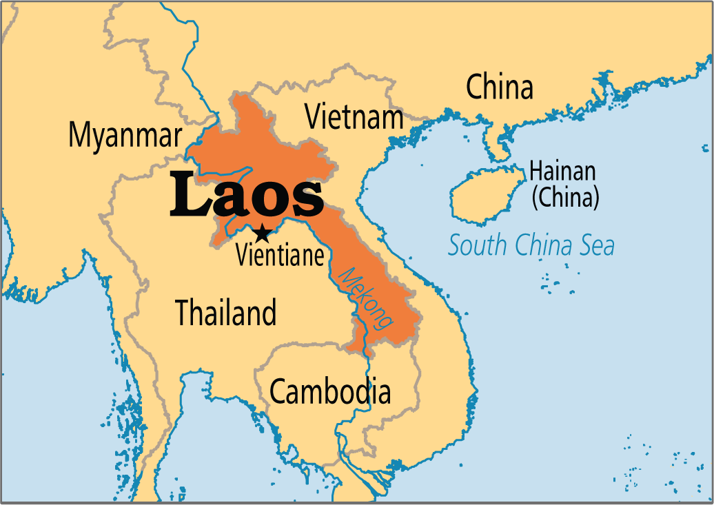 Our current home: Laos
