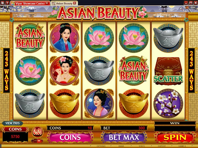 Slot game Asian Beauty in 188BET