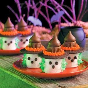 Fiesta de Halloween, Bocaditos, Decorativos, parte 2