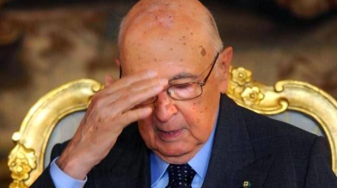 Napolitano non ricorda che la Corte Costituzionale ha sancito che questo Parlamento è illegittimo.