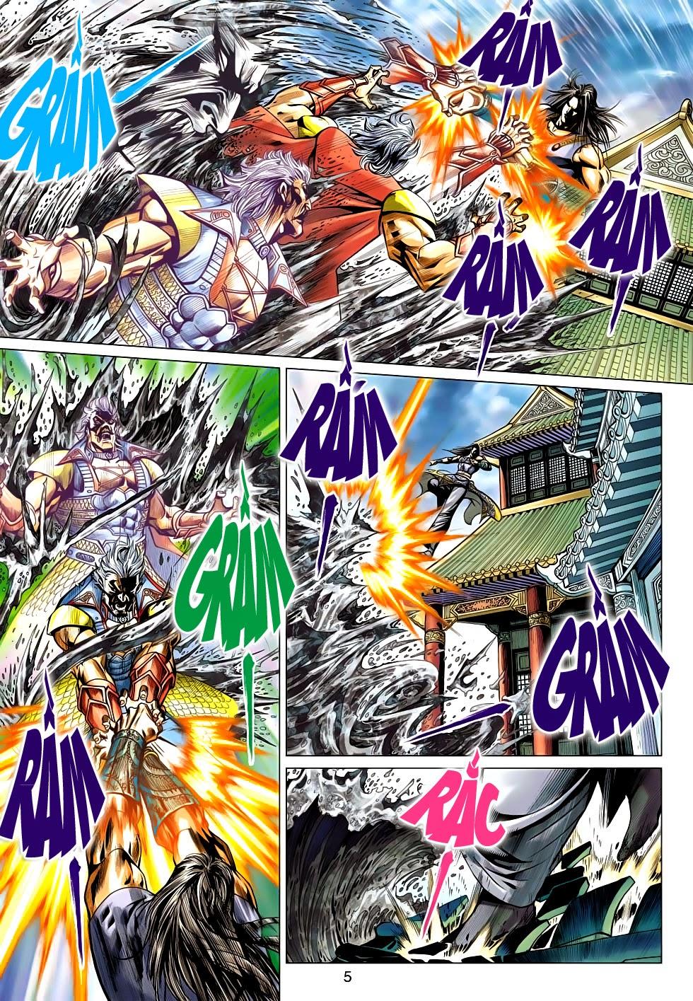 Thần Châu Kỳ Hiệp chap 32 – End Trang 5 - Mangak.info