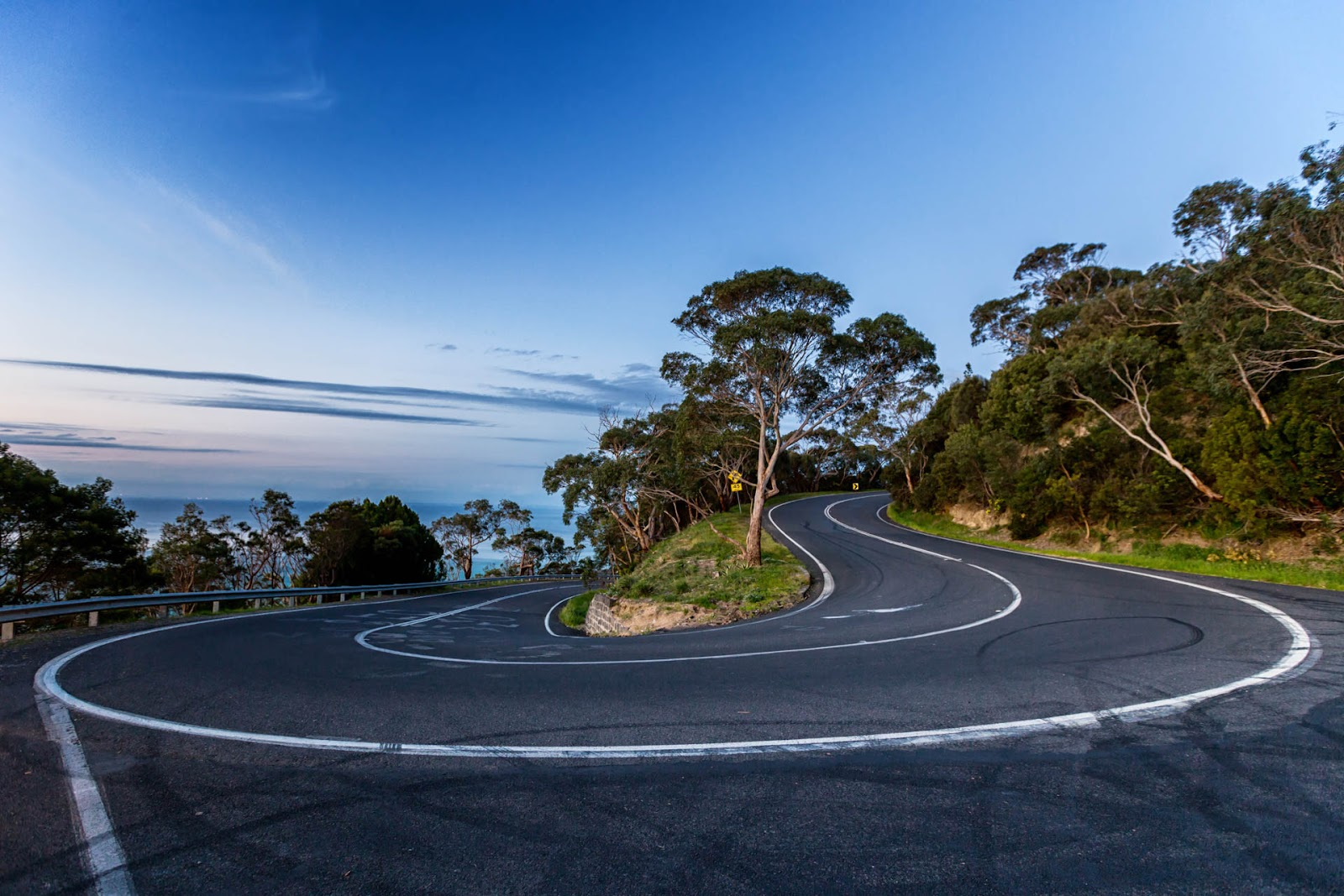 hairpin bend arthurs seat road
