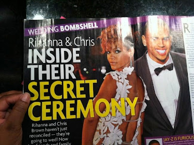 "CHRIS BROWN And Rihanna's ""Secret Wedding Rumours"" Not Affecting KARRUECHE 2"
