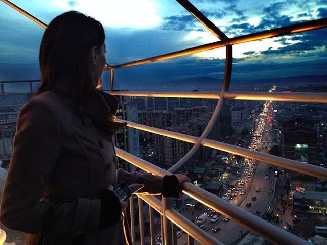 "Besarta, pamje nga Katedrala ""Nene Tereza"" ne Prishtine"