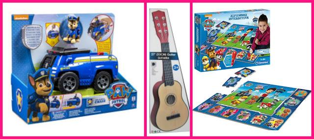 juguetes, regalos, navidades, reyes magos, papa noel, coches electricos, patrulla canina, peppa pig, guitarras, tut tut animals, compras