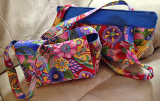 Jenny's Zippy Tote and Sheila Bag