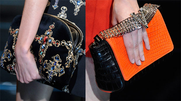 Versace Fall/Winter 2012 Bags