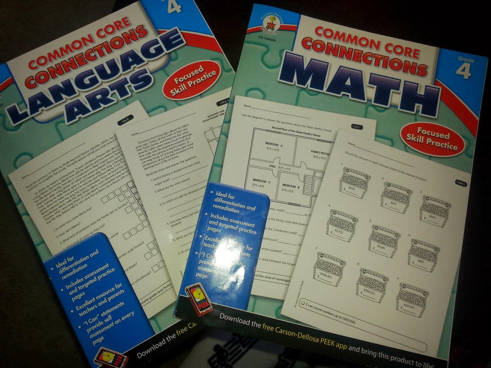 Carson dellosa free math worksheets
