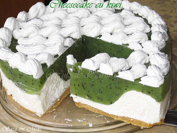 Kiwi Cheesecake Recipes — Dishmaps
