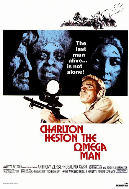 The Omega Man 1971 poster