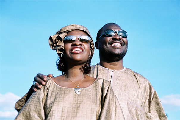 Concierto de Amadou y Mariam en Bogot Colombia