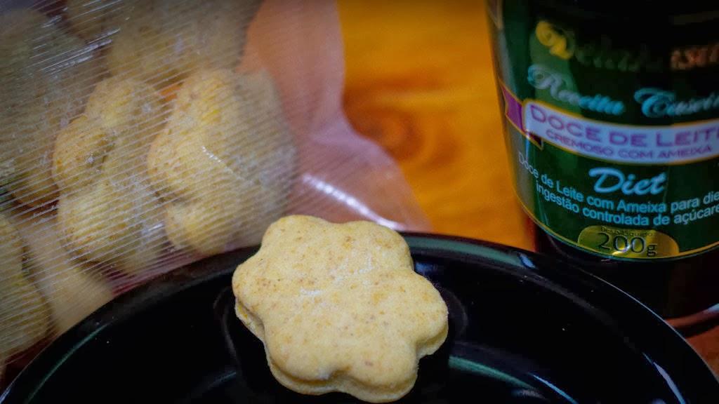 Biscoito amanteigado diet. Foto: Yuri Hayashi