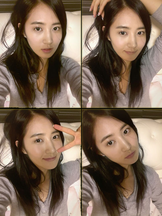 Girls Generations Yuri looks sexy and chic in new selca