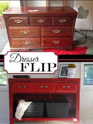 gold rainonatinroof furnituremakeover sale dresser buffet yard turned stylish white com diy navy