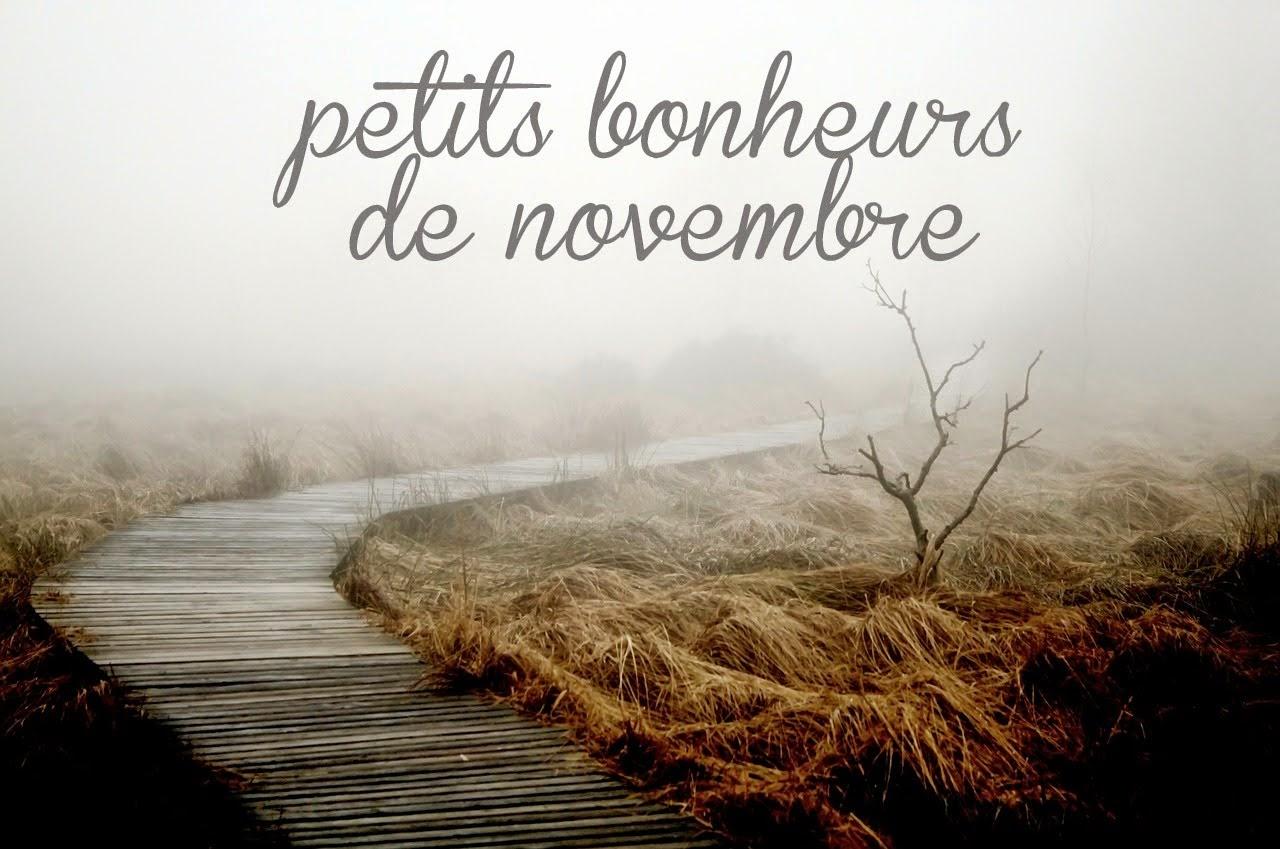petits bonheurs de novembre