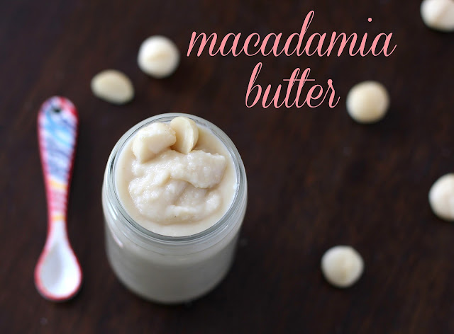 Healthy Homemade Raw Macadamia Butter