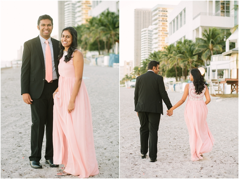 miami beach engagement photos