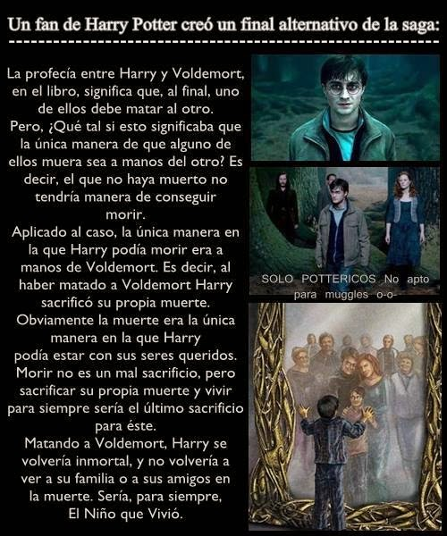 Final alternativo de Harry Potter