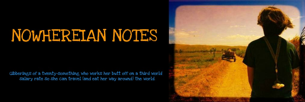 Nowhereian Notes
