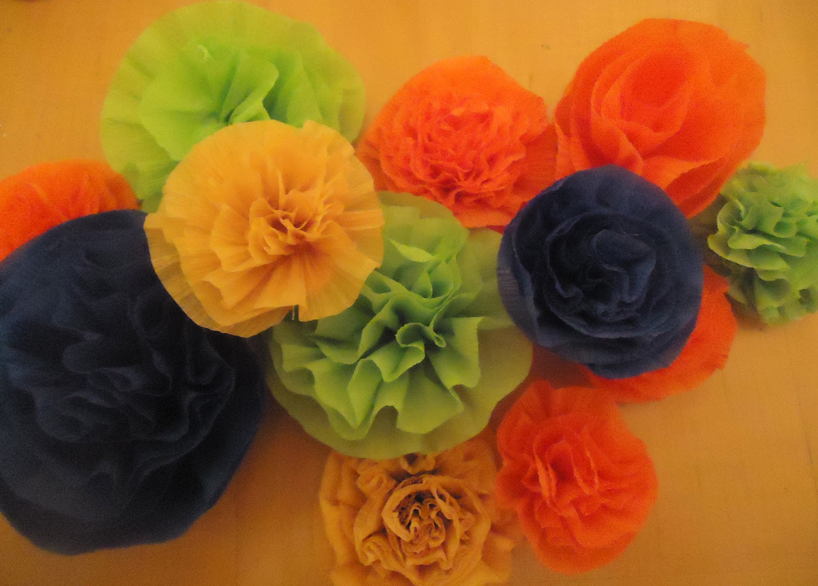 Crafter on a budget easy crepe paper carnations tutorial mightylinksfo