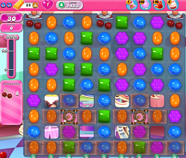 Candy Crush Saga 1453