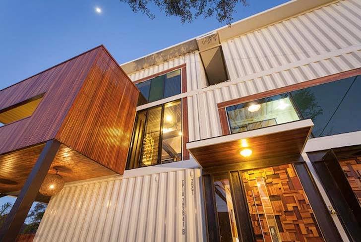 Casas contenedores esta es la casa construida con for La casa stupefacente progetta l australia