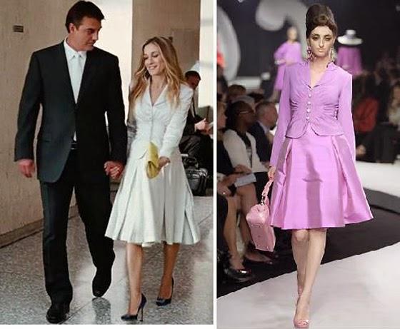 El vestido de nova de Carrie Bradshaw @blocdemoda