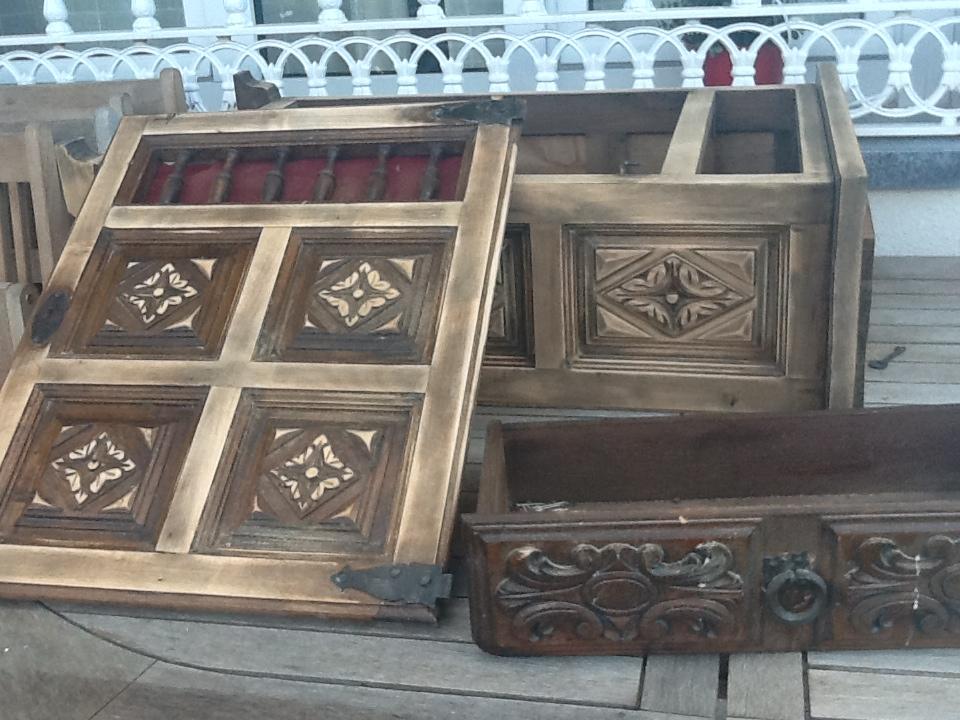Bricolaje en community decor - Restaurar mueble antiguo a moderno ...