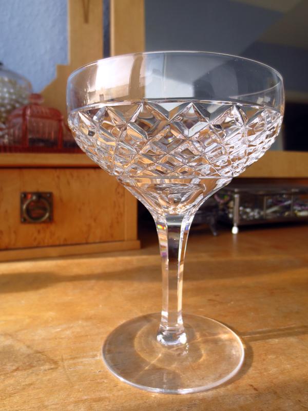 Champagnekupa kristall