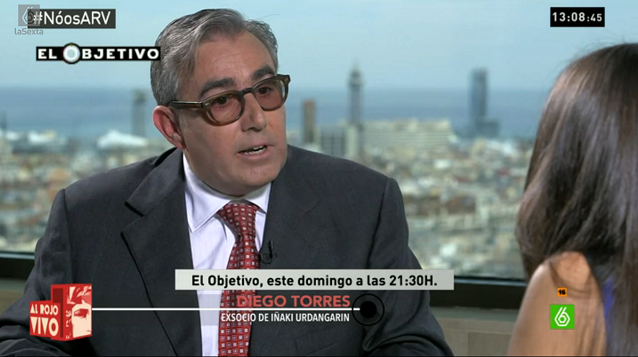 """Diego Torres, ex socio de Urdangarín: """"La Casa Real nos guiaba"""""""