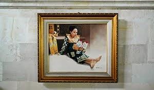 Painting Casa Luna Ubud