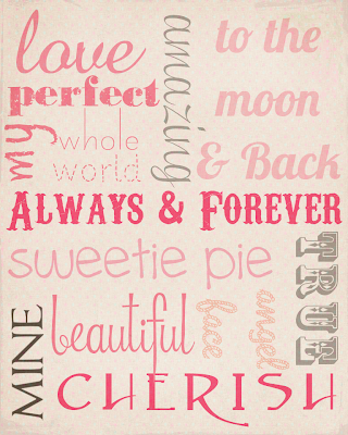 Love Subway Art Printable And then there are printable