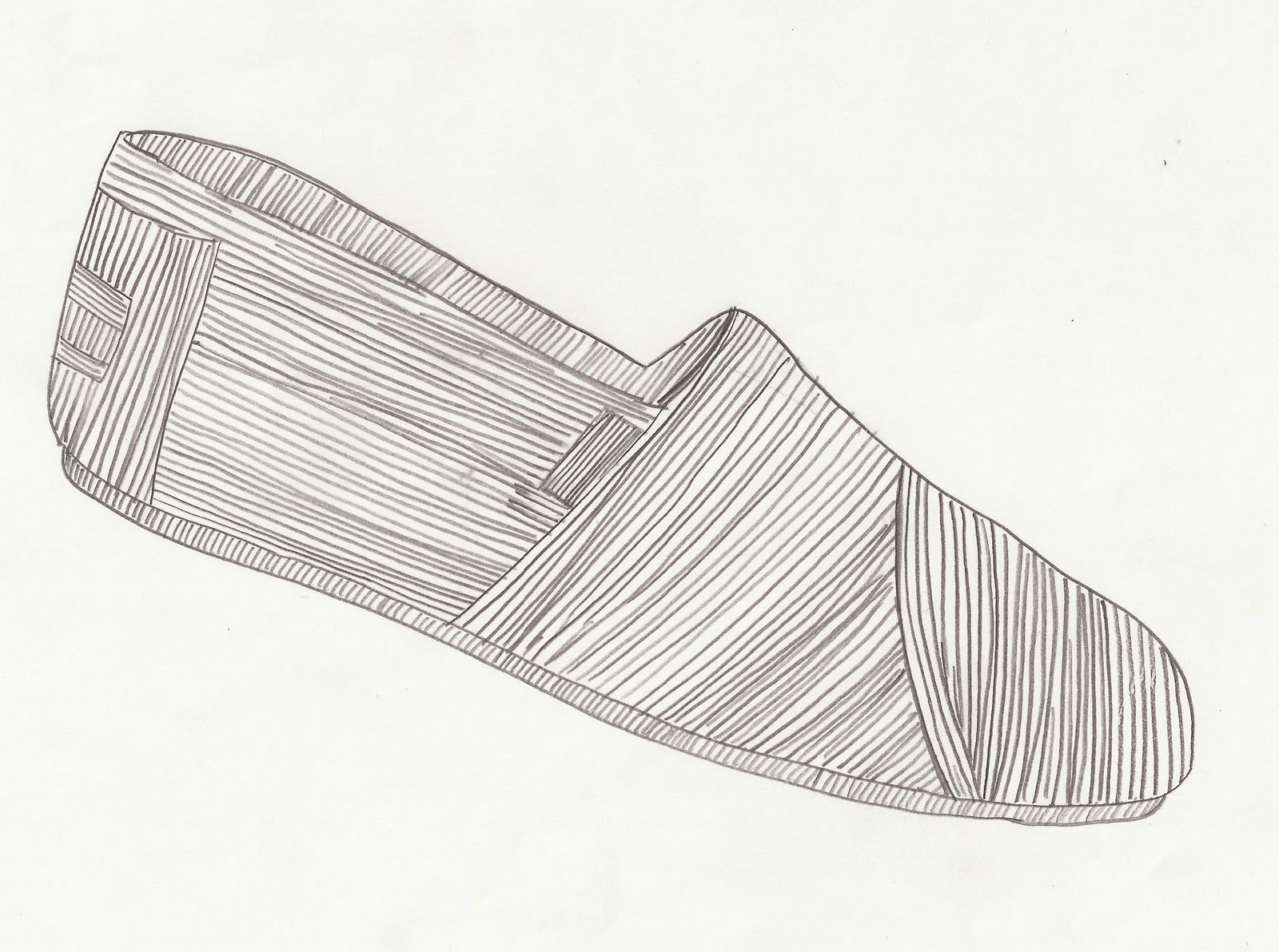 Line Drawing Shoes : Design thinking and making september