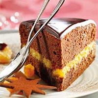 Torta de Albaricoques y Chocolate