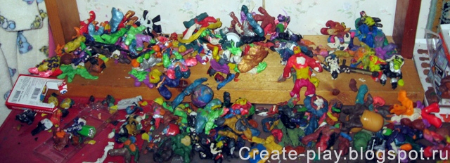 The second life plasticine