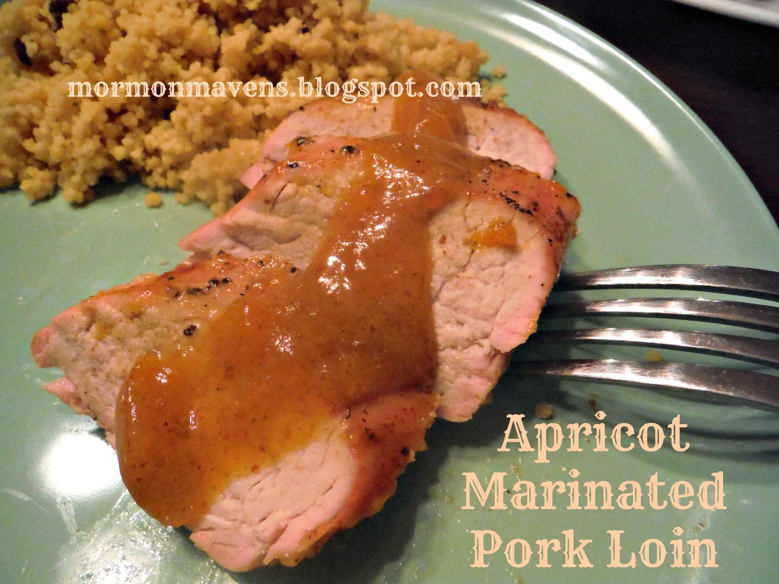 Mormon Mavens in the Kitchen: Apricot Glazed Pork Tenderloin