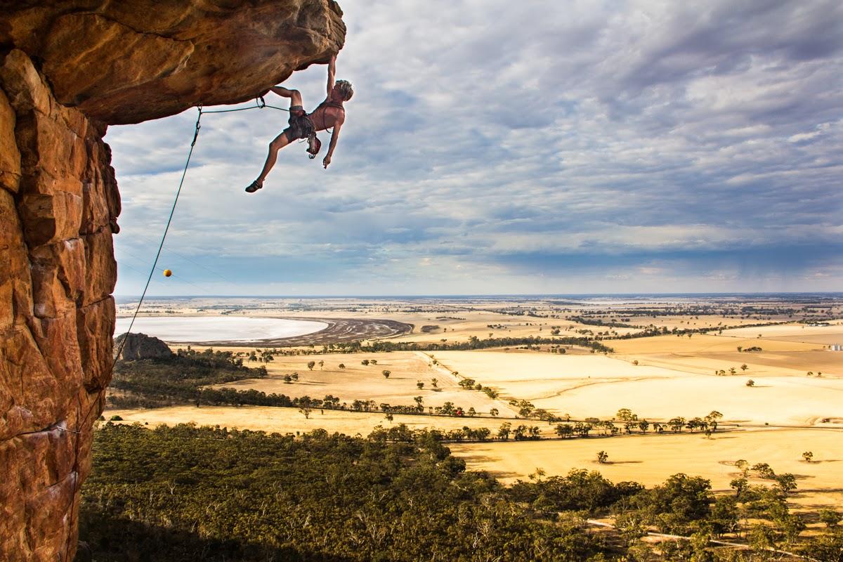 Climbing Around The World: Australia Mount Arapiles