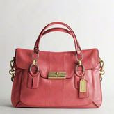 Must Have Item of the Month: COACH  Kristin Elevated Leather Flap Satchel $698