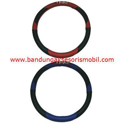 Sarung Setir TRD New Design Merah Hitam Biru Hitam