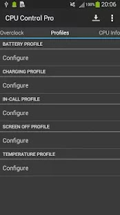 Preview CPU Control Pro Apk | andromin